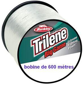 Nylon-berkley-big-game-600M-lt-lt-eau-douce-mer-gt-gt-0-78-0-85-0-90-gros-diametre