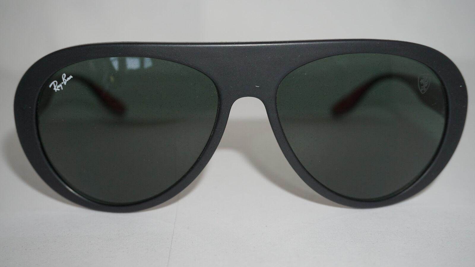 dd9a9ff6606 Ray Ban Sunglasses Ferrari Black Green Classic Rb4310m F60271 59 140 ...