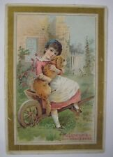 Vintage 1880's Antique McLaughlin's XXXX Coffee VICTORIAN Trade Card Picture