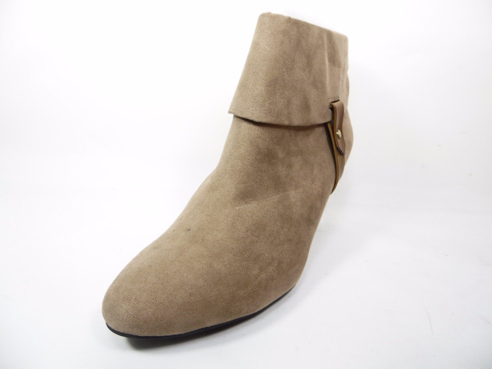 East 5th Quann Damenschuhe Ankle Booties Heels Man Made Taupe Größe 8M
