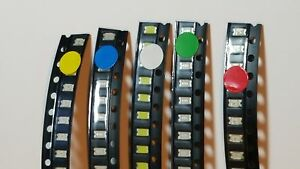 Surface-Mounted-LED-039-s-10-Pack-Choose-from-available-colours-UK-Free-P-amp-P