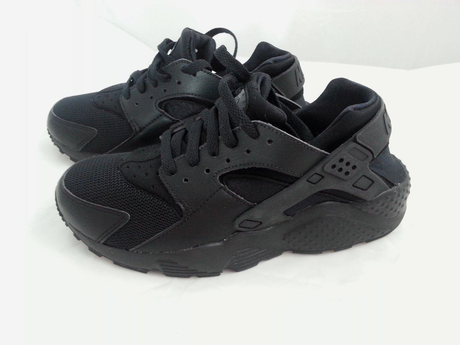 Nike schwarz Huarache Run Sneaker schwarz Nike Gr. 38,5 (UK 5,5) e5ae01