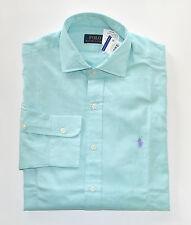NWT Men's Polo Ralph Lauren Casual Long-Sleeve Shirt, Green, XXL, 2XL