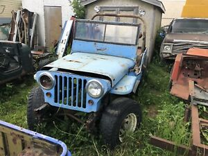 1946 Willys CJ 2A, running & driving complete