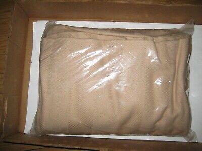 """Cappuccino Beige 70/""""x108/"""" New Medline Herringbone Spread Blanket"""
