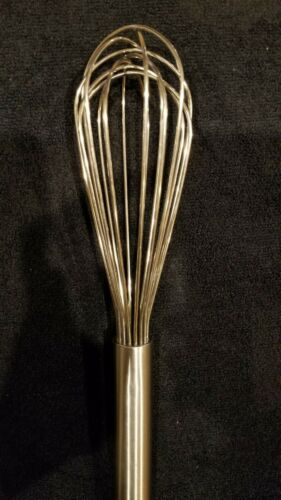 Heavy Duty Stainless Steel 2mm Wire Whisk Proffesional Grade