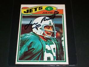 Jets-Joe-Fields-Auto-Signed-1977-Topps-Mexican-398