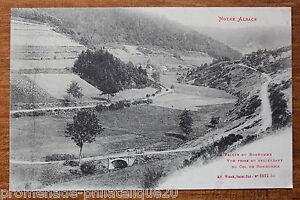Postal-Antigua-La-Valle-Del-Bonhomme-Vista-Desde-De-Descendiente-El-Col-Muneco