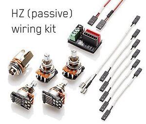 Astonishing Emg Solderless Wiring Kit For 1 2 Pickups Hz Passive Wiring Cloud Brecesaoduqqnet