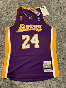 Authentic Kobe Bryant Lakers Mitchell & Ness 2008-09 NBA FINALS ...