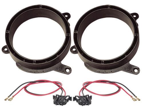 Adaptador altavoces 165 mm T-modelo Front cable para mercedes e-KL w210 sedán