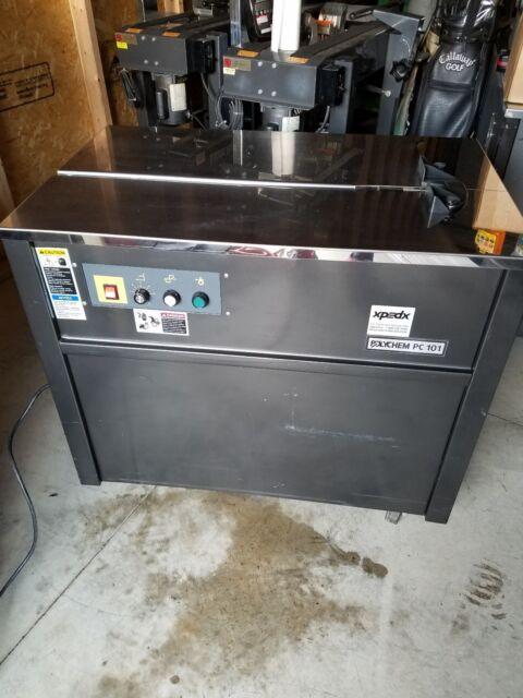 Polychem/joinpack Es101 Semi-automatic Strapping Machine