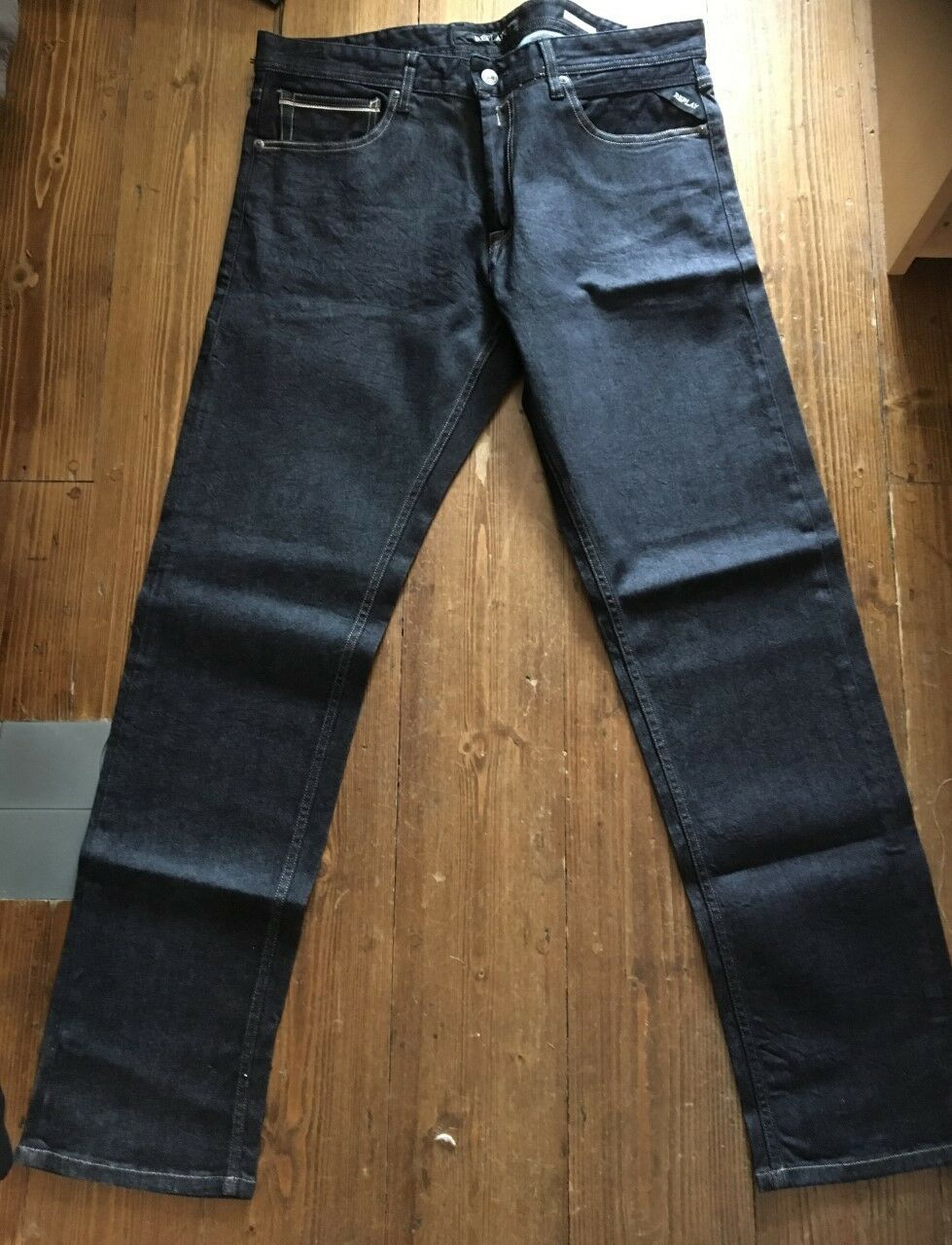new arrival 08d14 ba5e4 designer online REPLAY Grover Jeans Nuova Con Etichetta ...