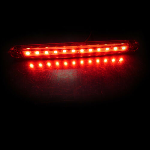 Pack Of Six 24v 12 Smd Led Red Rear Side Marker Lights Indicator Truck Lorry Cab