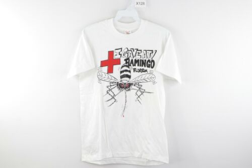 80s I Gave Blood In the Yukon Mosquito Funny Alaska Tourist t-shirt Small