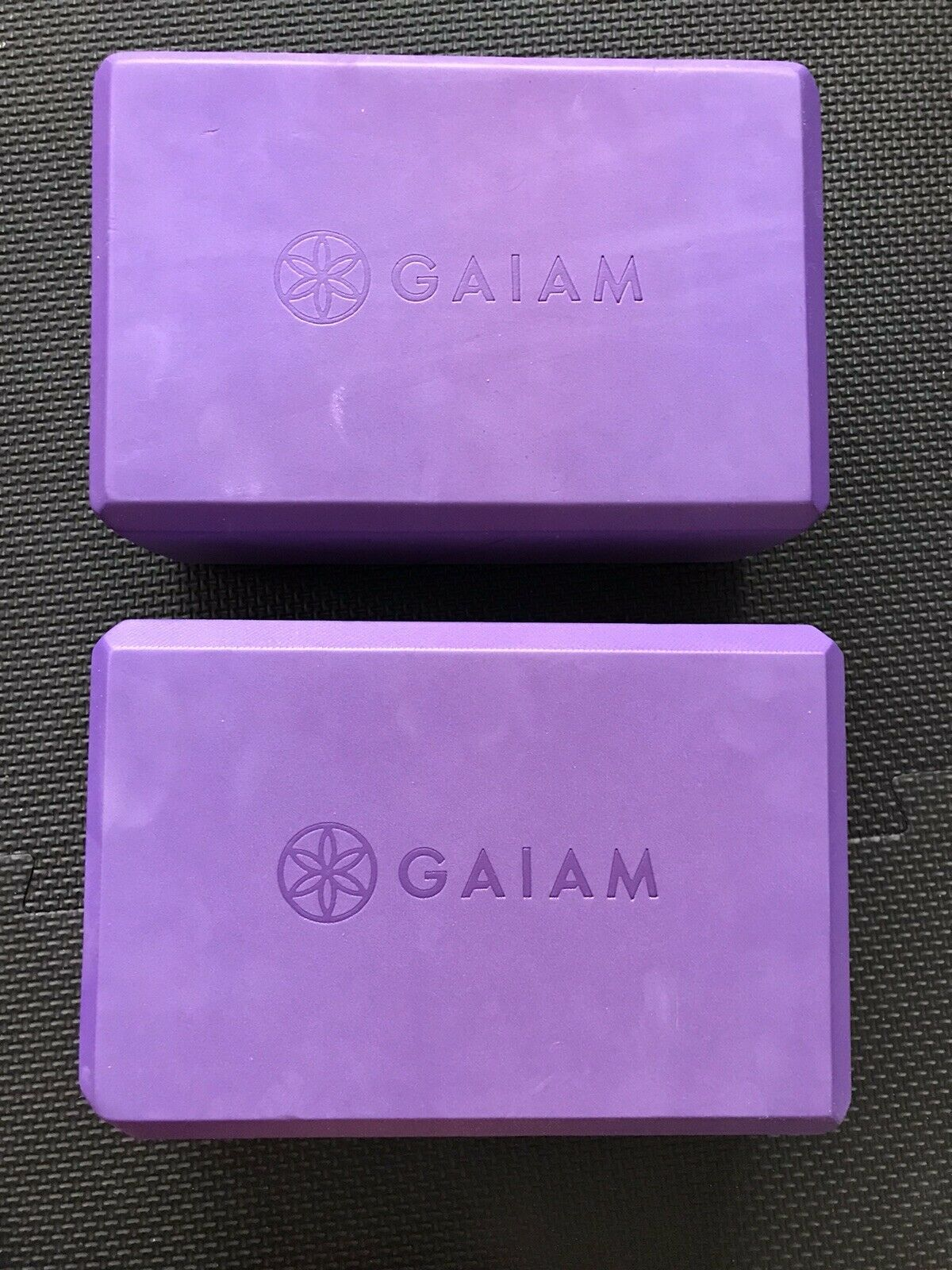 Gaiam Yoga Block 2 Pack Deep Purple Strap Not Included For Sale Online Ebay