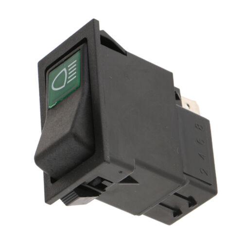 Auto KFZ Schalter 2 Polig ON//OFF Kippenschalter Wippschalter für Scheinwerfer