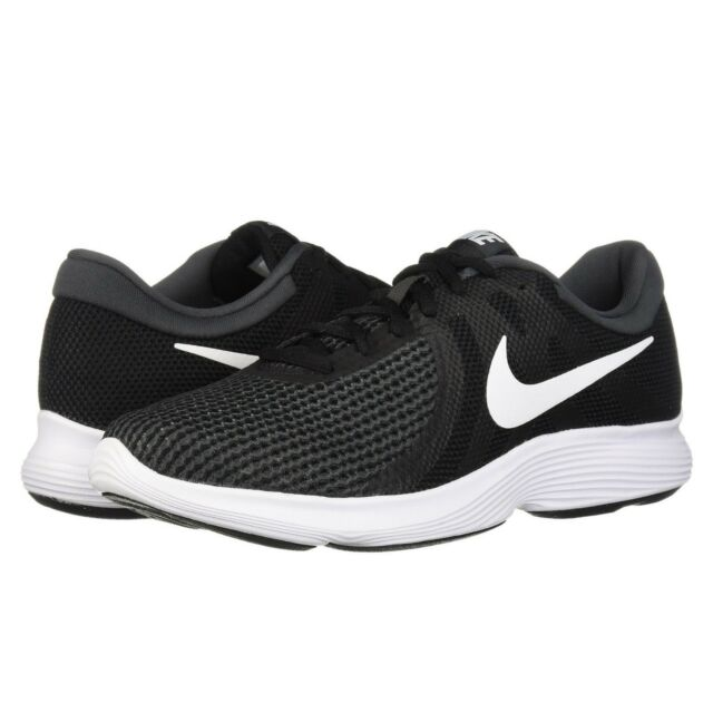 5723360d56b6 Nike REVOLUTION 4 Mens Black White 001 Running Athletic Training Lace Up  Shoes