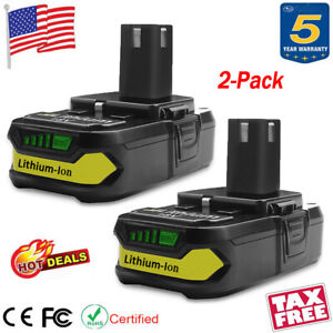 2X-For-Ryobi-One-Plus-18V-P108-Lithium-Ion-Battery-Replaces-P104-P102-P107-P105