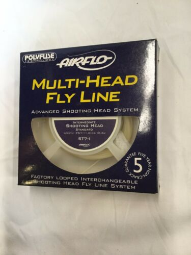 AIRFLO MULTI HEAD ST7FI INTERMEDIATE SHOOTING HEAD PRE LOOPED HEAD FLY LINE