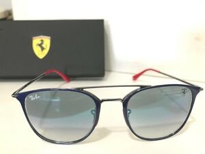 1460b4ad5a9 New RAY BAN SCUDERIA FERRARI RB3601M F0243F 52mm Gunmetal On Top ...