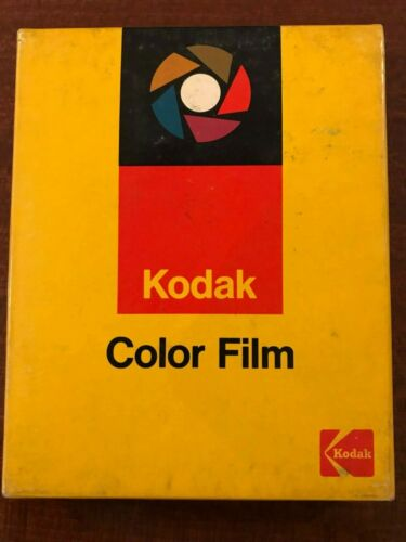 Kodak  Ektachrome 6116 type B professional film 4x5 in 10,2 x 12,7 cm