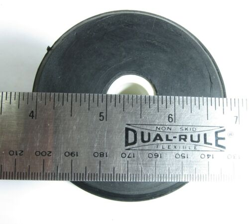 Shoreline Marine SL52319 Spool Roller Rubber 4 inch X 1//2 inch Black