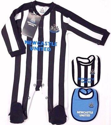 Babygrow Newcastle United Babyvest NUFC Shearer Benitez