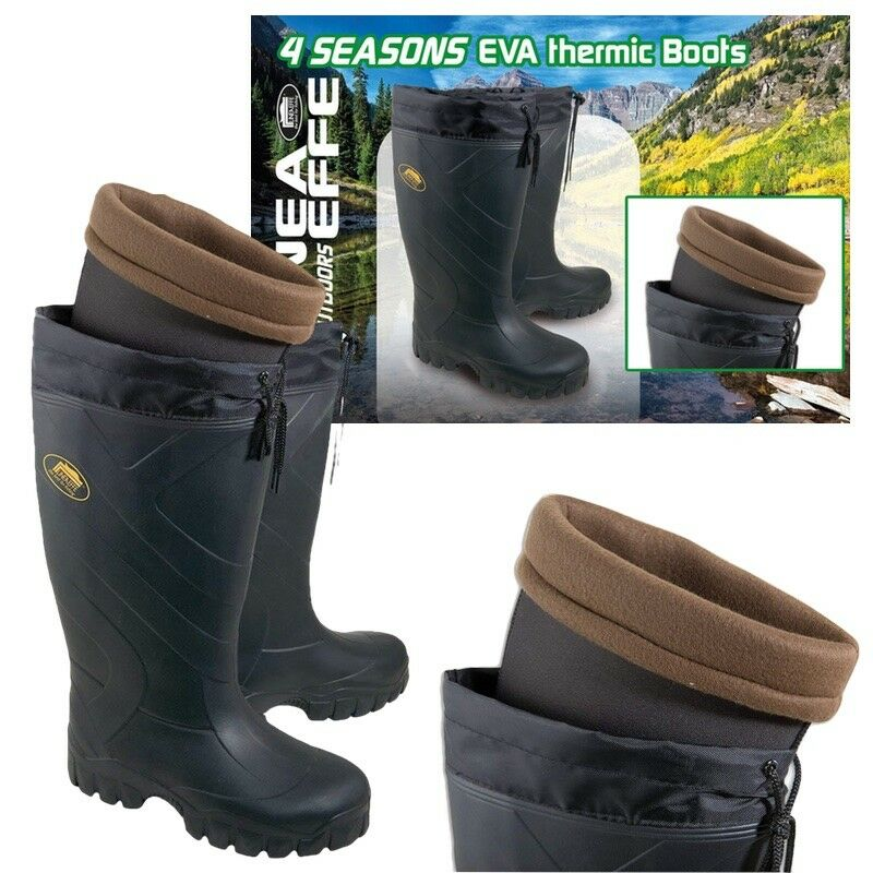 NEW FISHING THERMAL BOOTS 4 SEASON LINEAEFFE EVA BOOTS WELLIES HUNTING CAMPING