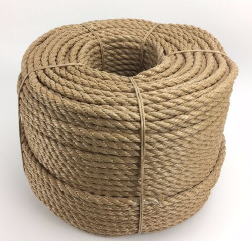 Rope Manila For Decking Garden /& Boating 50mm Synthetic Manila x 14 Metres