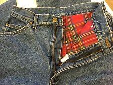 L L Bean~16M T (Medium Tall)~Woman's Jeans Fleece/Lined/Thermal/Pant~*