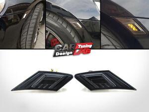 2-Smoke-LED-Dual-Side-Indicators-Markers-Turn-Lights-For-Scion-FR-S-Subaru-BRZ