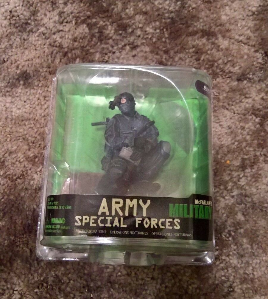 MILITARY ARMY SPECIAL FORCES - Mcfarlane - Series 7 - New - Rare - NIP