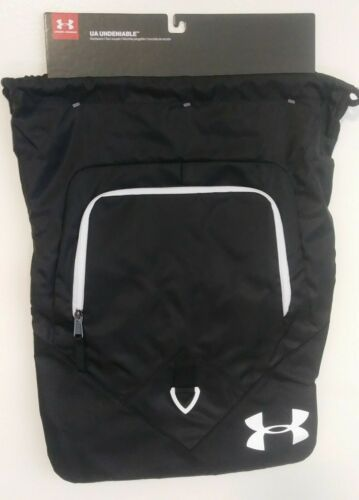 Under Armour Undeniable Sackpack UA Drawstring Backpack Sport Gym Bag 0010