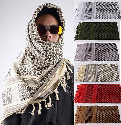 Military Desert Keffiyeh Shemagh Unisex Arab Scarf Shawl Neck Cover Head Wrap