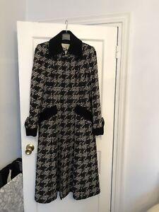 Style blanco negro Costelloe Paul Dressage 1950s Tamaño Coat y Plaid 12 YdUwtwOq