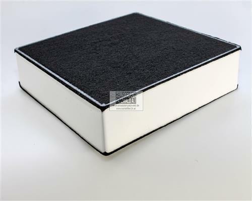 EVH-XTRA® Kohlefilter Oranier AFP 220 Aktivkohlefilter 220x220x50mm Dunstabzug