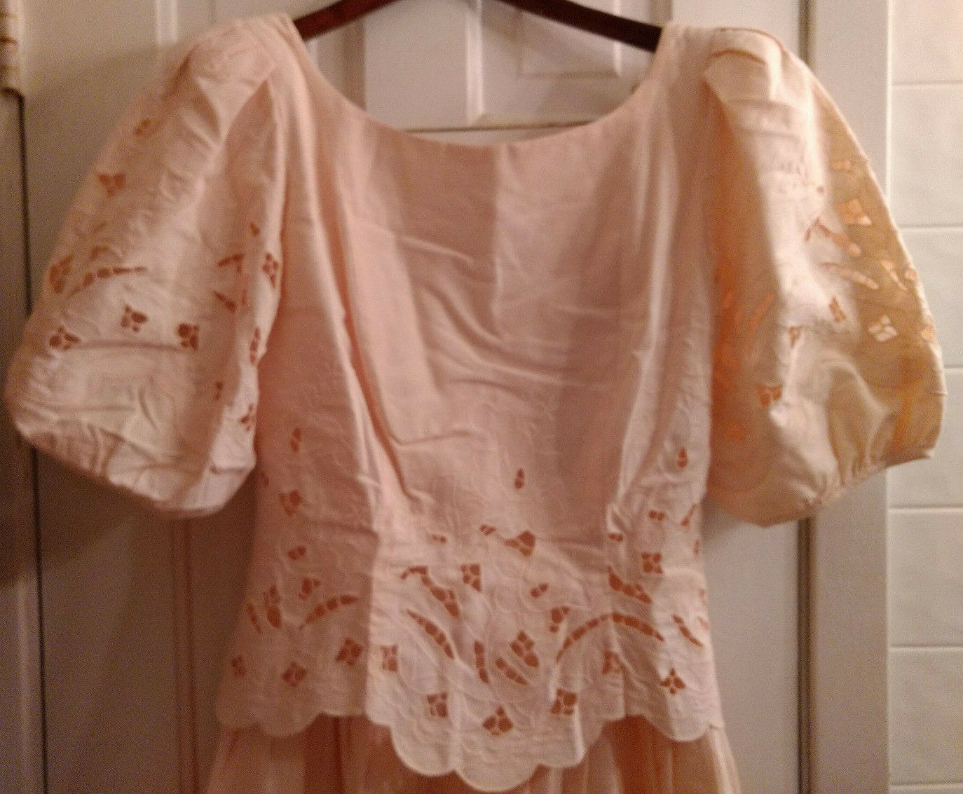 Vintage Marie St Claire 100% Cotton Embroidered C… - image 2