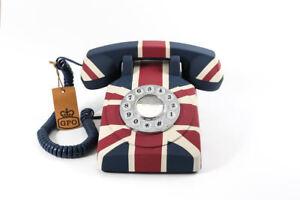 Gpo-Union-Flag-Telefono-Vintage-NUOVA-EAN-5060237570306