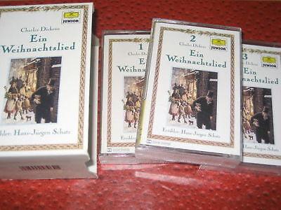 100% Wahr Dgg Charles Dickens Ein Weihnachtslied 1-3 Im Schuber Um Zu Helfen, Fettiges Essen Zu Verdauen