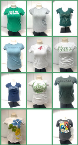 LOT of 11 Short Sleeve Graphic Tees Large