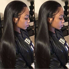 Glueless Brazilian Straight Hair Lace Front Wig Full Lace Wigs Cosplay Makeup