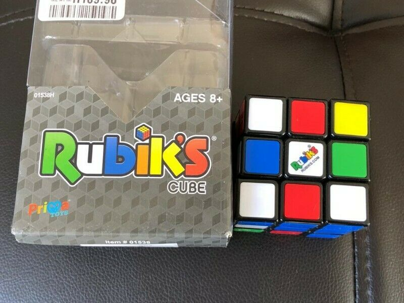 RUBIKS CUBE FOR SALE IN LIKE NEW CONDITION