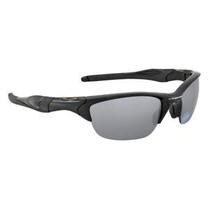 504d7149703 NEW Oakley OO9144-04 Half Jacket 2.0 Polished Black   Black Iridium ...