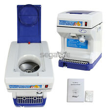 Used Electric Ice Shaver Machine Shaved Ice Snow Cone Crusher Maker Snow Icee