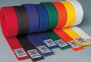 Dan-Rho-Budoguertel-4cm-breit-Fuer-Karate-Taekwondo-Ju-Jutsu-Kickboxen-Judo