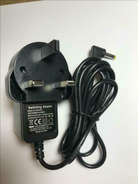 UK 6V Mains AC Adaptor Power Supply Charger for Sony ICF-SW7600GR World Radio