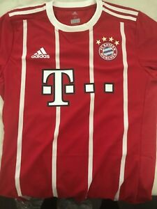 new product a4b3f ed3b3 Details about Adidas FC Bayern Munich Authentic Jersey Men's (Size M) with  bundesliga patch