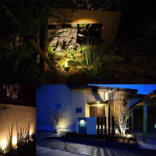 Outdoor LED Landscape Light 6//9W COB Flood Spot Garden Wall Yard Path Lighting