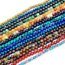Natural Gemstone 3.5mm ~ 4mm ~4.5mm Round Spacer Beads 15'' ~ 16'' Pick Stone